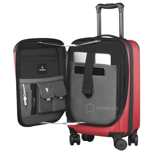 """Torby i walizki, Victorinox Spectra™ 2.0 mała poszerzana walizka kabinowa 23/55 cm na laptopa 15,6"""" / czerwona - Red ZAPISZ SIĘ DO NASZEGO NEWSLETTERA, A OTRZYMASZ VOUCHER Z 15% ZNIŻKĄ"""