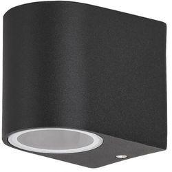 Kinkiet zewnętrzny lampa ścienna Rabalux Chile 1x35W GU10 IP44 czarny 8029