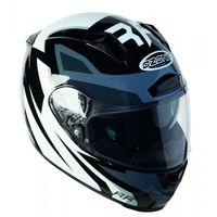 Kaski motocyklowe, OZONE RC-01 KASK INTEGRALNY Z PINLOCK BLACK/GREY/WHITE