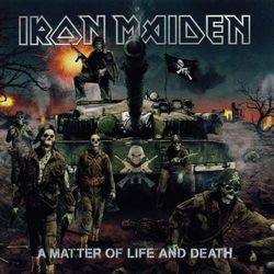 IRON MAIDEN - A MATTER OF LIFE AND DEATH (CD+DVD) LTD EMI Music 0094637232422