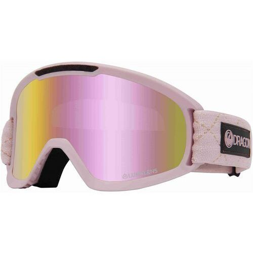 Kaski i gogle, gogle snowboardowe DRAGON - Dr Dx2 Bonus Blush Llpinkion+Lldksmk (682) rozmiar: OS