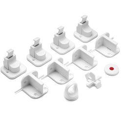 Zabezpieczenie szafek magnetyczny zamek 4szt REER