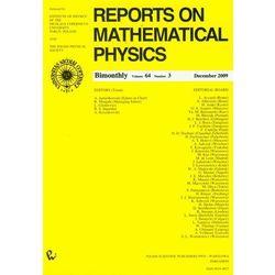 Reports on Mathematical Physics 64/3 2009