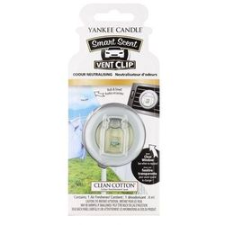 Yankee Candle Smart Scent Vent Clip Clean Cotton 1sztuka