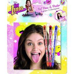 Jiri Models Soy Luna 3 żelowe długopisy+ plakat (GXP-556754) Darmowy odbiór w 20 miastach!