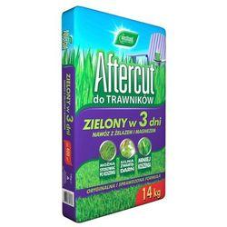 Nawóz do trawników Aftercut Zielony w 3 dni 14 kg