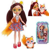 Lalki dla dzieci, ENCHANTIMALS Lalka Felicity Fox + zwierzątko Flick