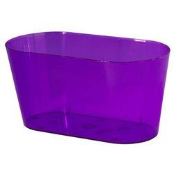 Osłonka na storczyki 23 x 11 cm plastikowa fioletowa FORM-PLASTIC