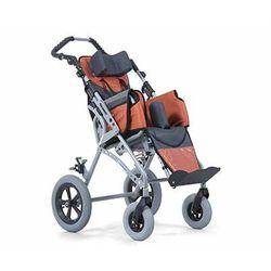 wózek inwalidzki specjalny dziecięcy aluminiowy spacerowy rozmiar 45 cm (klin,pasy,zagłówek,śpiwór, budka) gemini III
