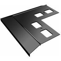 Akcesoria do płytek, Narożnik zewnętrzny Renoplast 100/90 grafitowy