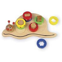 Kreatywne dla dzieci, Ślimak - sortowanie, kolory i kształty