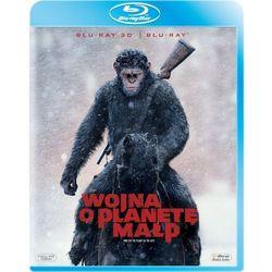 Wojna o Planetę Małp (2D+3D) (Blu-ray) - Matt Reeves. DARMOWA DOSTAWA DO KIOSKU RUCHU OD 24,99ZŁ