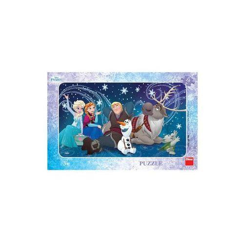 Puzzle, Ledové království - Sněhové vločky - puzzle 15 dílků Disney Walt