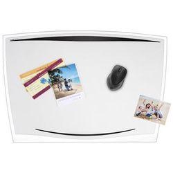 Podkładka na biurko CEP Ice, 65,6x44,8cm, transparentna czarna