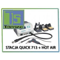 Stacja lutownicza Quick 713 + Hot Air