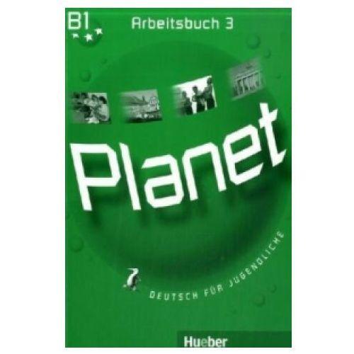 Książki do nauki języka, Planet 3, Arbeitsbuch (opr. miękka)