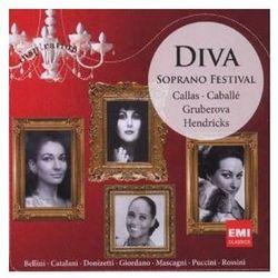 Diva: Soprano Festival - Montserrat Caballe, Maria Callas, Edita Gruberova