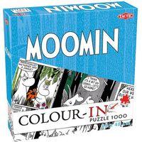 Puzzle, Puzzle Moomin Color-in do kolorowania 1000 -