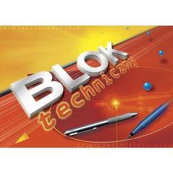 Blok techniczny KRESKA A4 10k. - kolorowy