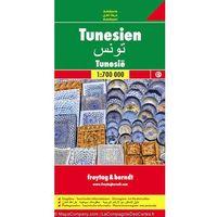 Mapy i atlasy turystyczne, Tunisia (opr. miękka)