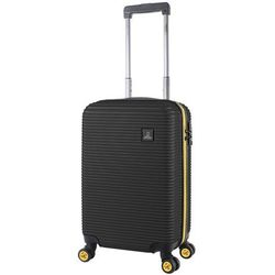 National Geographic Abroad mała walizka kabinowa 20/54 cm / czarna - czarny