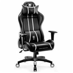 Fotel DIABLO CHAIRS X-One 2.0 (L) Czarno-biały DARMOWY TRANSPORT
