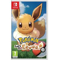 Gry Nintendo Switch, Gra Nintendo Switch Pokémon Let's Go Eevee!