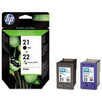 Akcesoria do faksów, HP tusz Black Nr 21 C9351A i Color Nr 22 C9352A, SD367AE