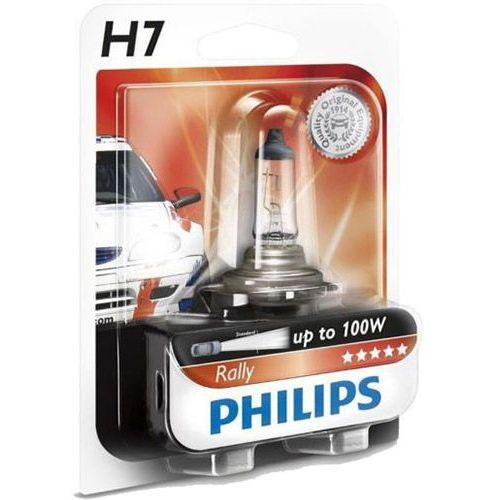 Pozostałe oświetlenie samochodu, Żarówka Halogenowa Philips® H7 Rally   12V 80W PX26d   Blister 1 szt.