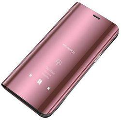 Clear View Case futerał etui z klapką Huawei Y6 2019 / Huawei Y6s 2019 różowy - Różowy