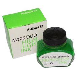 Atrament do piór PELIKAN fluo M205 30ml. - zielony