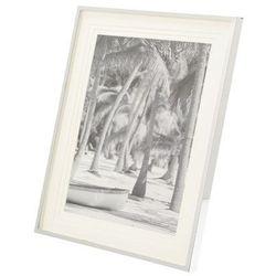 Dekoria Ramka na zdjęcie Laura 13x18cm silver, 19 × 1,5 × 24 cm