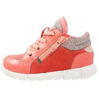 Butki dla niemowląt, ecco INTRINSIC MINI Obuwie do nauki chodzenia spiced coral/coral blush