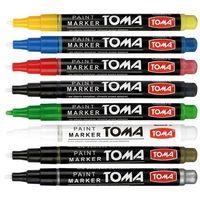 Markery, Marker olejowy Toma, brązowy wkład (to-41)