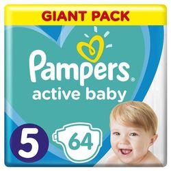 Pampers pieluchy Active Baby Junior 5 11-16 kg 64sz- natychmiastowa wysyłka, ponad 4000 punktów odbioru!