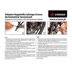 Adapter do hamulców tarczowych Crosso - 20mm crosso (-13%)