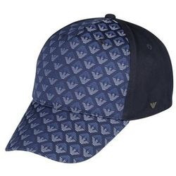 Armani Junior BASEBALL Czapka z daszkiem navy blue