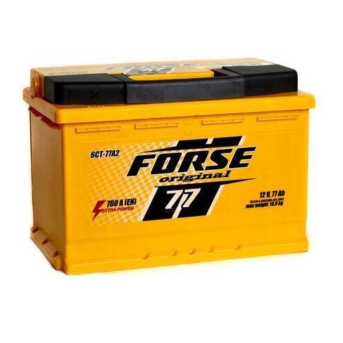 Akumulatory samochodowe, Akumulator FORSE 77Ah 760A EN P wysoka