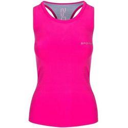 Top fitness SPOKEY Modo 839511 (rozmiar S) Różowo-niebieski