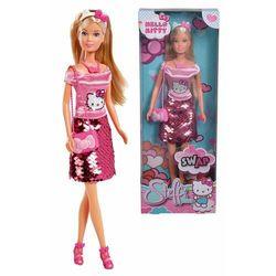 Steffi Love Lalka Hello Kitty w cekinowej spódniczce