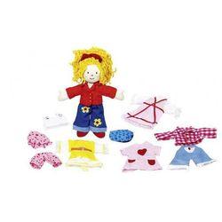 Lalka szmaciana Karry z ubrankami