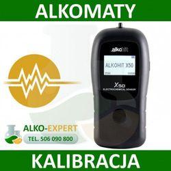 Alkomat Alkohit X50 Serwis Pogwarancyjny