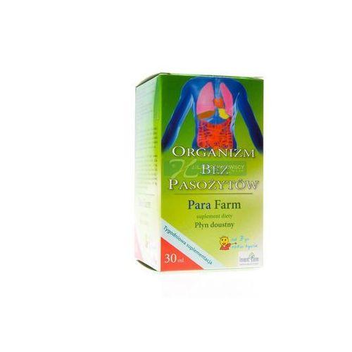 Detox i oczyszanie organizmu, Para Farm 30 ml - odrobaczanie