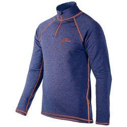 Bluza termoaktywna HALSA GOLF MEN - melange orange