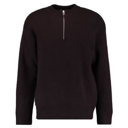 Weekday KIWI ZIP Sweter wine red