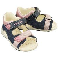 Sandały dziecięce, GEOX B8238B S.NICELY C4BE8 avio/pink, sandały dziecięce, rozmiary: 20-25