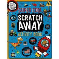 Książki dla dzieci, Scratch Away Activity Book Super Cool ćwiczenia do nauki angielskiego