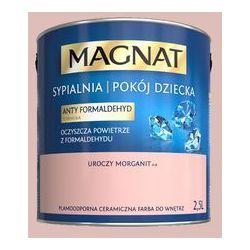 Farba Ceramiczna Magnat - Sypialnia Pokój Dziecka - A38 Uroczy Morganit 2,5L Śnieżka