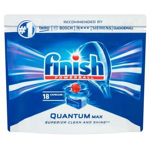 Kostki do zmywarek, Tabletki do zmywarek Finish Quantum Max 279 g (18 sztuk)