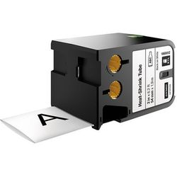 Taśma DYMO XTL 1,8m rurki termokurczliwej ciągłej (54 mm) na kabel o Ǿ Min. 11.4mm – Max. 34.2mm, czarny na białym, 1868812 Dystrybutor DYMO! Oryginał